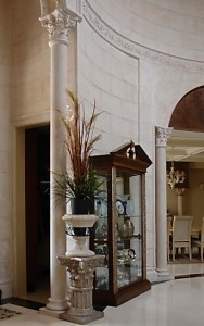 limestone column design